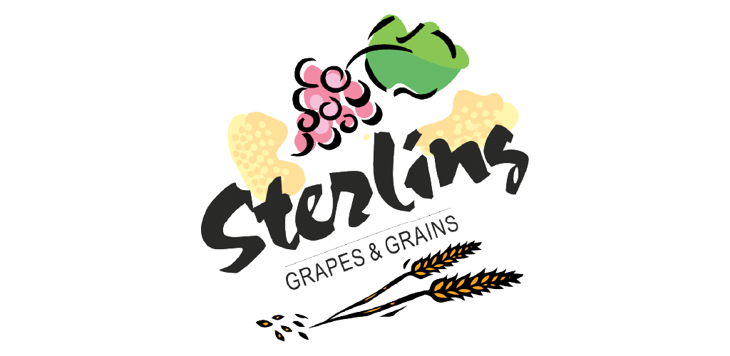 Sterling Grapes & Grains