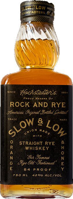 Hochstadter S Slow And Low Rock And Rye