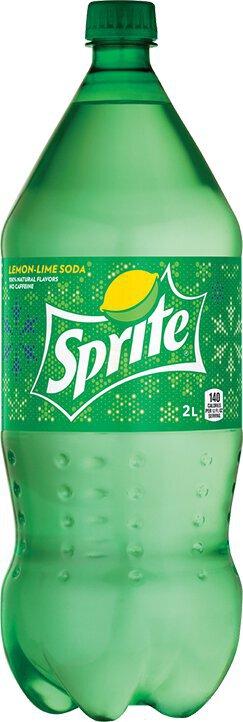 Sprite 2 Liter Bottle