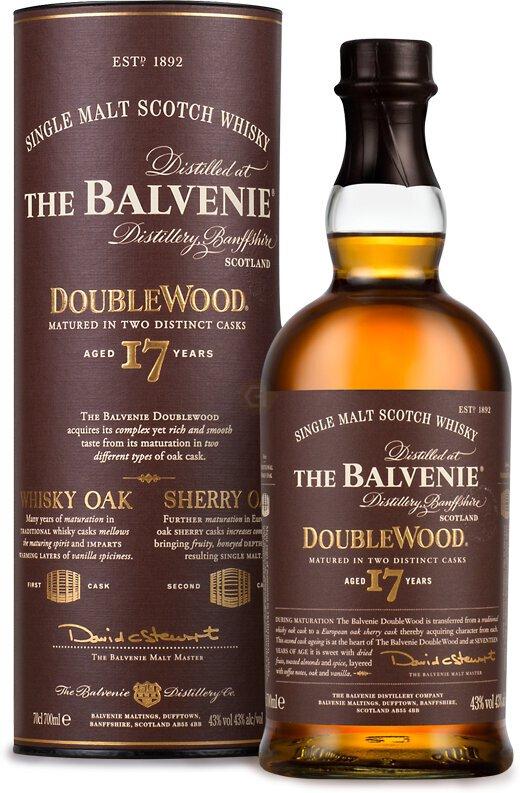 Balvenie 17 Yr Doublewood Single Malt Scotch Whiskey