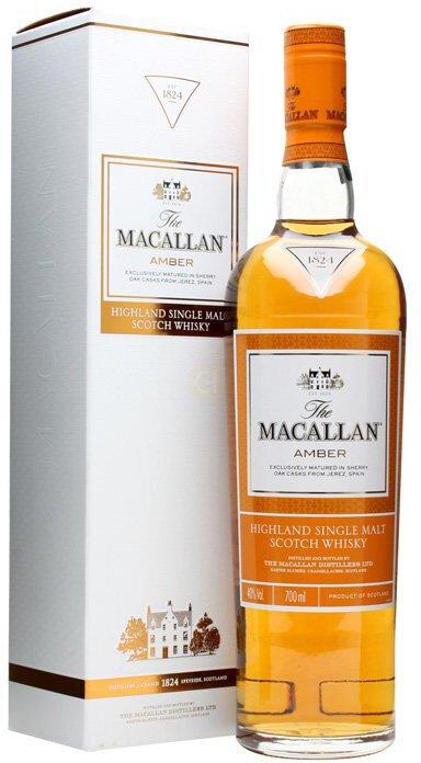 The Macallan Scotch Single Malt Amber