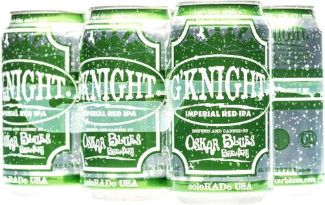 Oskar Blue G Knight Imperial Red Ale Can 6pk