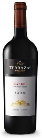 Terrazas De Los Andes Malbec Reserva 91pts W Spectator