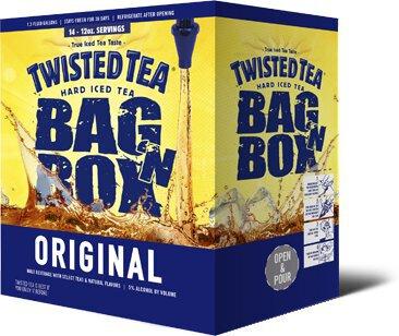 Twisted Tea Cardboard 5 Liter Keg