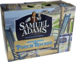 Awe Inspiring Sam Adams Porch Rocker 2 12 Pack Cans Caraccident5 Cool Chair Designs And Ideas Caraccident5Info