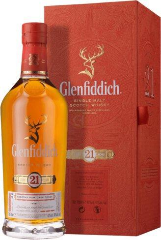 Glenfiddich Single Malt Scotch Whisky 21 Year
