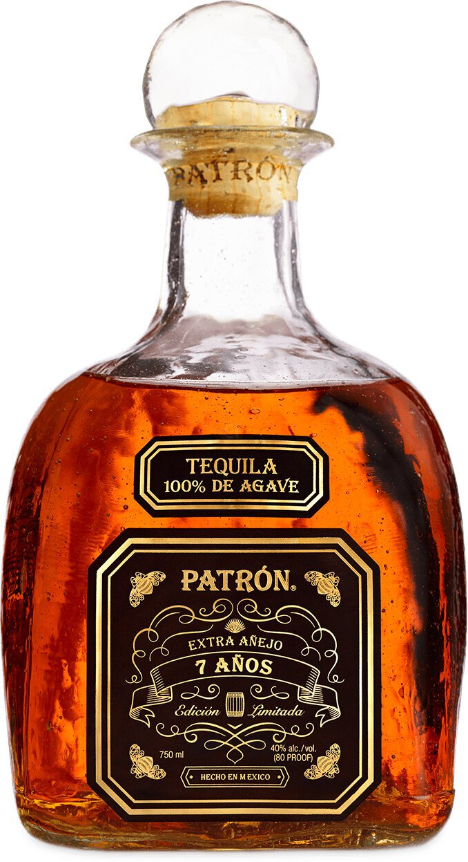 Patron Tequila Extra Anejo 7 Years Old
