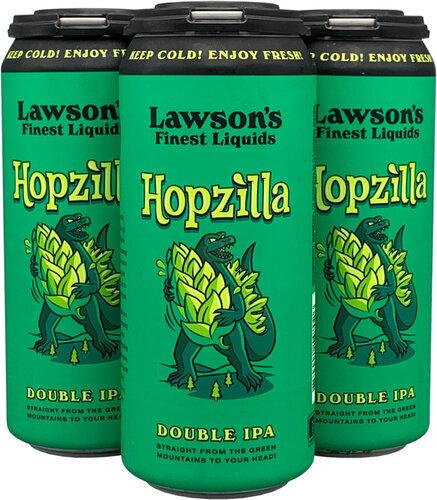 Lawsons Hopzilla Dipa 4pk 16oz Cans