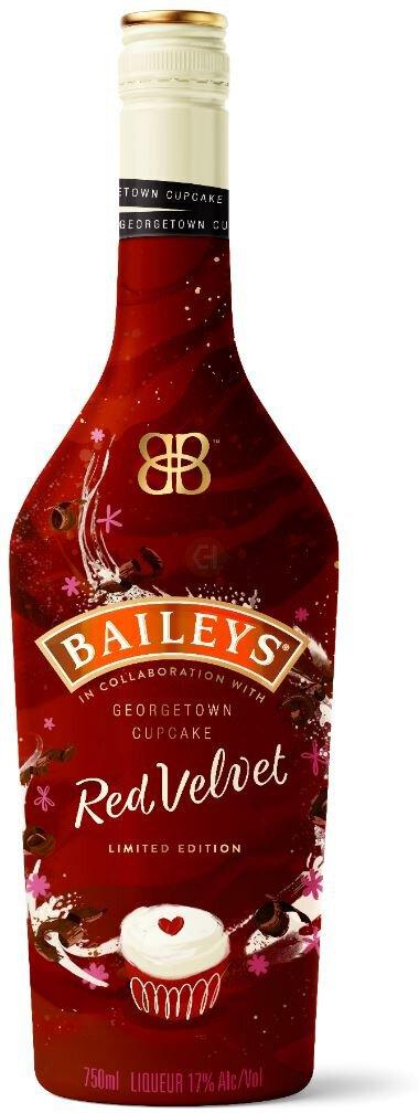 Baileys Original Irish Cream Red Velvet Cupcake