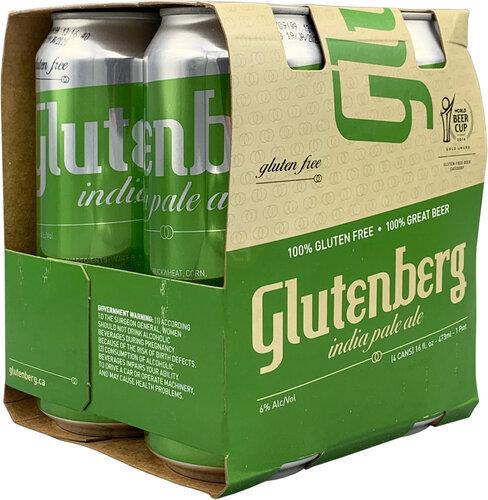 Glutenberg Ipa 4pk 16oz Cans