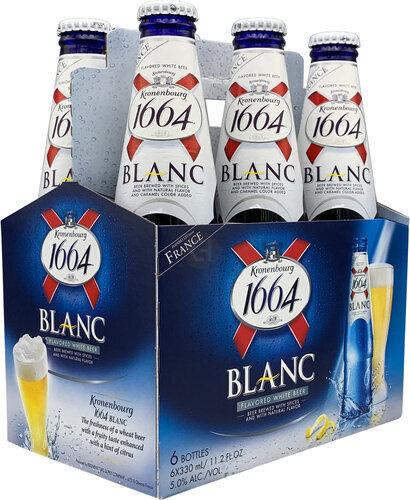 Kronenbourg 1664 Blanc 6pk 11 2oz Bottles