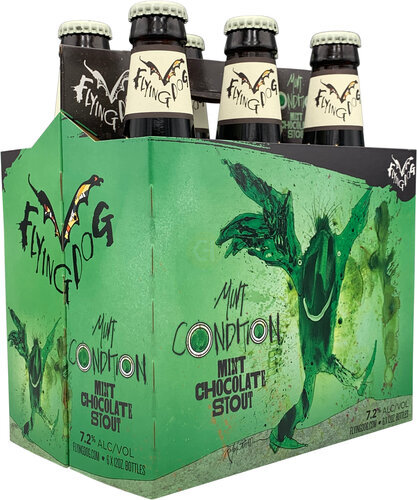 Image result for flying dog mint condition mint chocolate stout images