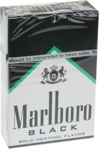Marlboro 72 Menthol Black Box