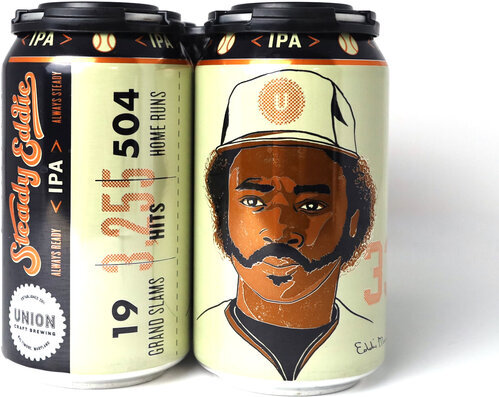 Union Craft Brewing Steady Eddie Ipa 6 Pack Cans